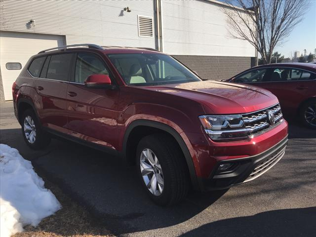 New 2018 Volkswagen Atlas V6 SE
