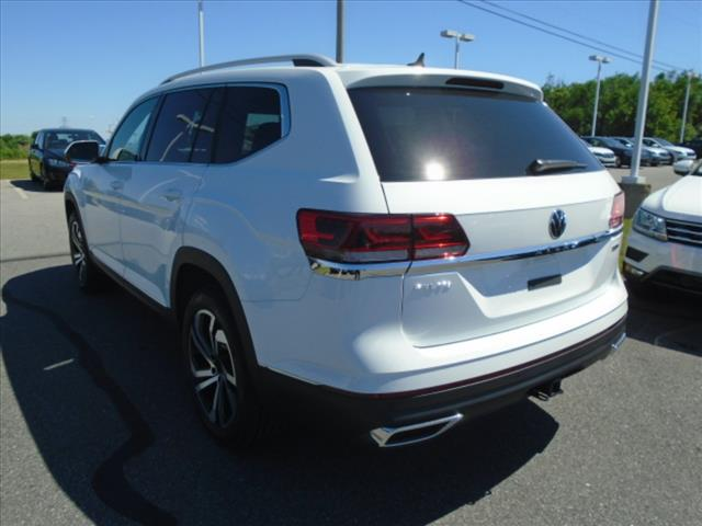 New 2021 Volkswagen Atlas V6 SEL Premium 4Motion
